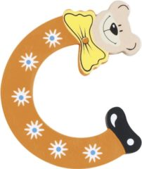 Fuchsia Playshoes Houten letter C
