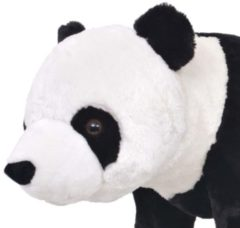 VidaXL Speelgoedpanda staand XXL pluche zwart en wit
