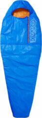 OMM - Mountain Raid 160 - Synthetische slaapzak maat 195 cm, blauw/oranje