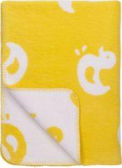 Gele Meyco Eendjes biologische wiegdeken 75x100 cm geel