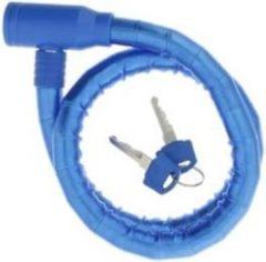 Blauwe Merkloos / Sans marque Fietsslot Inclusief 2 sleutels
