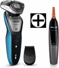 Philips Rasierer Shaver Series 5000 S5420/06, inklusive gratis Nasen-und Ohrenhaartrimmer