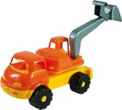 Oranje Androni Kraanwagen - Zandbak Speelgoed