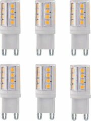 LT-Luce G9 3.5Watt Led Lamp 2700K Dimbaar 6 Stuks