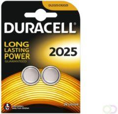 20 Stuks (10 Blisters a 2st) - Duracell CR2025 3V lithium knoopcel batterij