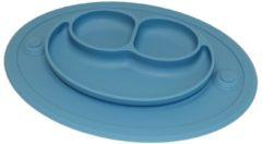 Anti-slip silicone 3D kinder Kikker blauw| Kinderplacemat | Vaatwasser bestendig | Anti Slip | Super leuk | By TOOBS