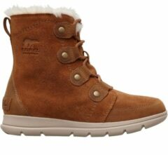 Bruine Sorel Sorel Explorer Joan Snowboots Dames - Camel Brown. Ancient Fossil - Maat 41