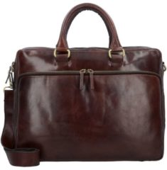 LEONHARD HEYDEN Business Tasche - Cambridge RV-Aktenmappe L 2F - braun