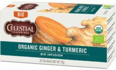 Celestial Seasonings Celestial Season Organic Ginger & Turmeric (20st)