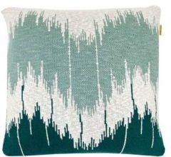 Groene Malagoon Wave sierkussen 50 x 50 cm