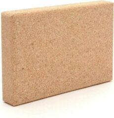 Bruine CKB Natural 100% Solid Cork Yoga Block Balancing Plank Pad