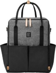 Petunia Pickle Bottom Intermix Backpack Luiertas - Graphite / Zwart