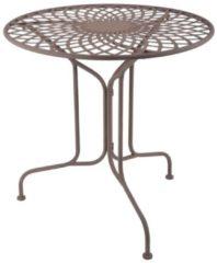 Bruine Esschert Design Tafel metaal oud-Engelse stijl MF007