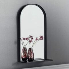 Nordal Denmark Iron spiegel 77x46cm met glazen planchet