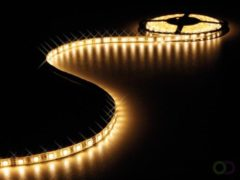 Witte Velleman Flexibele Led Strip - Warm Wit - 300 Leds - 5M - 24V