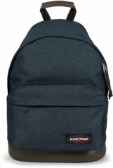 Blauwe Eastpak Wyoming Ek811 Backpack Unisex adult and guys Denim