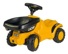 Gele Rolly Toys looptractor RollyMinitrac JBC Dumper junior geel