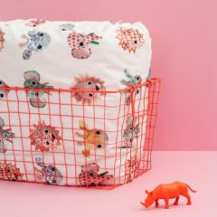 Junior - Studio Ditte wilde dieren dekbedovertrek Lief- Junior Dekbedovertrek Animal Lief! 120x150