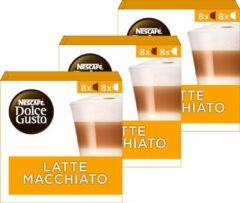 NESCAFÉ Dolce Gusto Nescafé Dolce Gusto capsules Latte Macchiato - 48 koffiecups - geschikt voor 24 koppen koffie