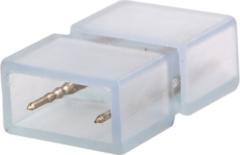 Witte Aigostar 2-pins waterdichte connector 10 stuks (één kleur) niet geschikt voor RGBW - 2835 / 180 LEDs