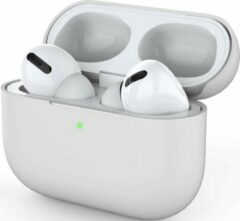 YPCd® Airpods Pro Case - Siliconen - Wit