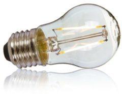 Beige OSRAM LED Retrofit 2W (=25W), E27 Classic P 25, klar