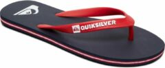 Rode Quiksilver Molokai Youth Jongens Slippers - Blue/Red/Blue - Maat 36