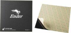 Zwarte Creality 3D Creality Ender-3 originele printsticker 235x235 mm