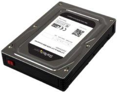 StarTech Box esterno adattatore per dischi rigidi SATA da 2,5 a 3,5 in alluminio con altezza massima SSD / HDD di 12,5 mm