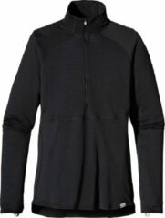 Patagonia W's Capilene 4 EW half-zip - dames - thermoshirt - zwart - maat S