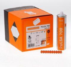 Spit pulsa nagel HC 6 x 22mm + gas p700