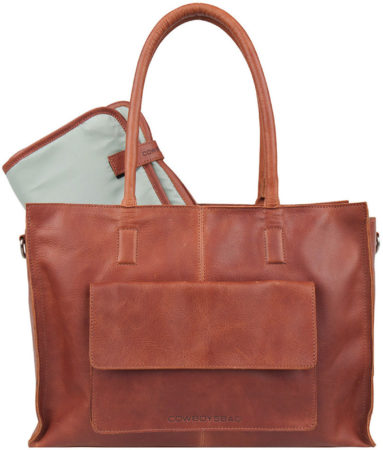 Afbeelding van Cowboysbag Diaper Bag Tortola Cognac DIAPER BAG TORTOLA | COGNAC