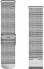 Garmin Milanees Bandje Zilver 20mm