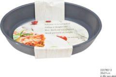Grijze Imperial Kitchen Ovenschaal glas 30x21cm 2.4ltr non-stick