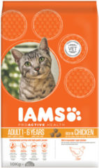Iams Proactive Health Adult - Kip - Kattenvoer - 10 kg