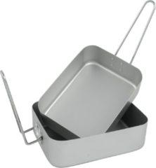 Grijze Bo-Trail Pannenset - Gamelle - 2-delig - Aluminium