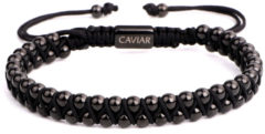 Caviar Collection Armband Starry Night X Gun Black