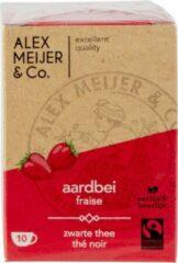 Rooibos-honing Theezakjes Grote Verpakking 60 zakjes 1,5 gram Alex Meijer Fair Trade