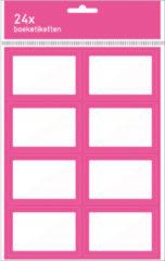 Fuchsia Kangaro Boeketiket 4x6 stuks roze - roze 212C