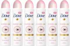 Dove Invisible Care Floral Touch Deo spray 6 x 150 ml