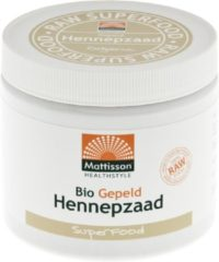 Mattisson Absolute hemp seeds hulled hennepzaad gepeld 500 Gram