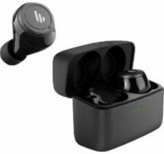 Zwarte Edifier Bluetooth AptX 5.0 True Wireless Stereo in-ear 16 102dB 20Hz-20kHz 6mm Neodymium driver IPX5 8uur speeltijd + 24uur van docking station