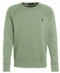 Polo Ralph Lauren - Sweatshirt van badstof met spelerslogo in cargogroen