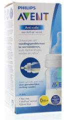 Witte Philips AVENT Anti-Colic SCF810/14 - Babyfles (125ml) met AirFree Ventiel - 1 stuk