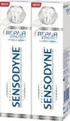 Sensodyne Tandpasta Repair & Protect Whitening - 2x 75 ml - Voordeelverpakking