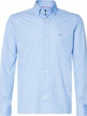 Lichtblauwe Donkervoort Overhemd Heren lange mouw