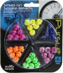 Summit Pursuit Snap-on Spaakkralen Multicolour 12 Mm 36 Stuks