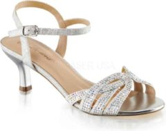 Fabelicious Fabulicious Hoge hakken -35 Shoes- AUDREY-03 US 5 Zilverkleurig