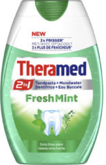 Theramed 2 In 1 Fresh Mint Tandpasta 12 Pack (12x75ml)