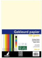 Papier Kangaro A4 120gr pak a 100 vel beige